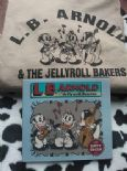 CAMISETA - T-SHIRT + CD LB ARNOLD & JELLYROLL BAKERS – TALLAS/SIZES S-M-L-XL